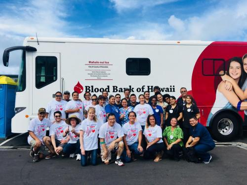 <h3>Annual Blood Drive</h3><br>The Dr. K.B. Chun and Sons Annual July 4th Blood Drive will be on Saturday, June 29th. This will be our 12th annual blood drive and find it more receptive to hold it on a Saturday to get more participation. Our goal this year is to use 3 Blood Bank of Hawaii buses to collect over 100 oints of blood. This will represent potentially saving 300 lives here in Hawaii.
